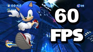 Sonic Generations PC - All Modern Stages 60 FPS