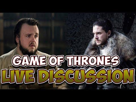 Game of Thrones Season 7 Live Discussion W/ Amelia