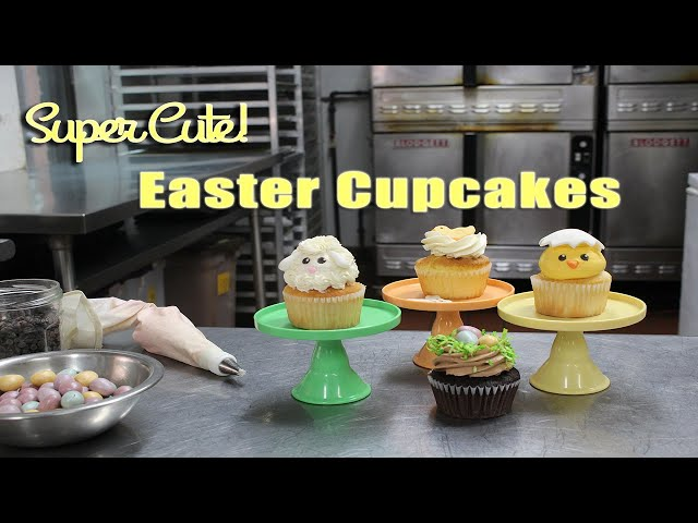 Learn to make Easter Cupcakes!