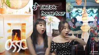 Koreans React To TikTok's Hype House Tours | ????????????????