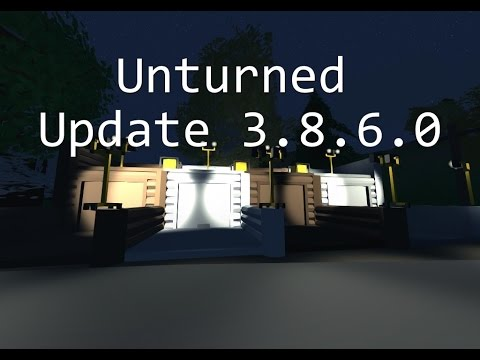 Generators and Garages! Unturned 3.8.6.0 Update