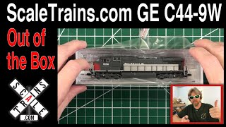 ScaleTrains.com GE C44-9W Disappointed?