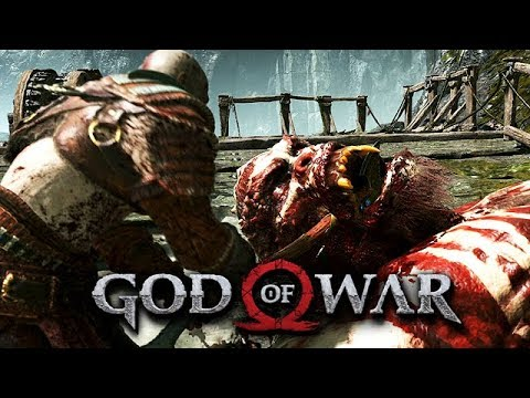 God of War Gameplay German #33 - Fafnir der Zwerg im Drache