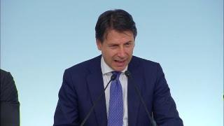 Palazzo Chigi, 13/09/2018 - La conferenza stampa del Presidente del...