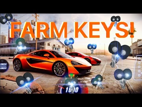 CSR Racing 2 How to Farm Bronze and Silver Keys!