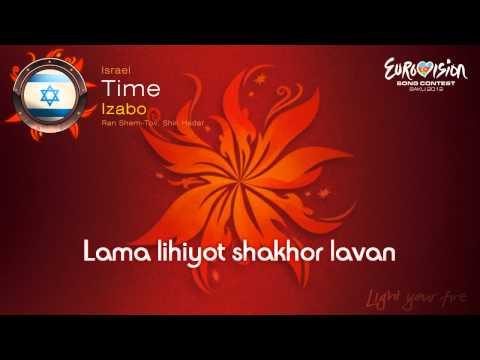 "Izaboo - ""Time"" (Israel) - [Karaoke version]"