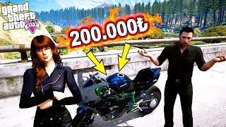 ESİN 200.000 TL'YE EFSANE MOTOR ALIYOR!(KAWASAKI H2R) - GTA 5 ŞEVKAT YERİMDAR MODU