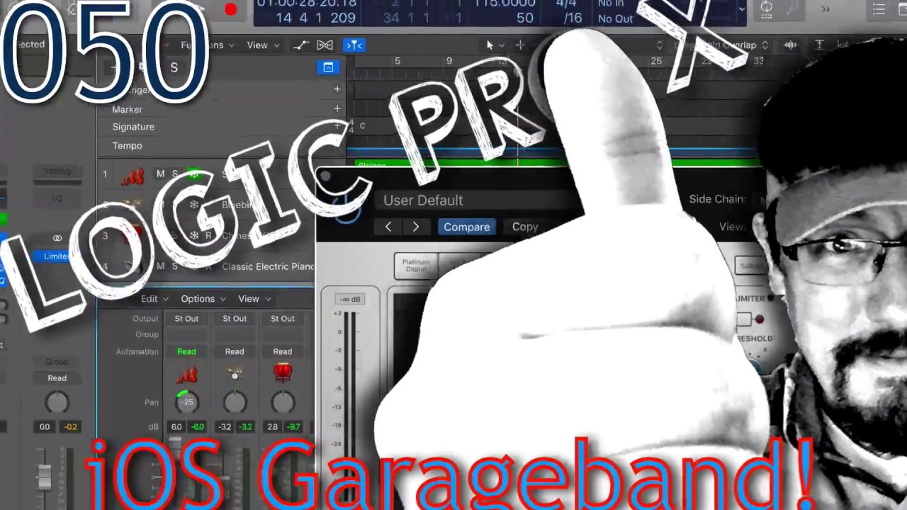 Sharing Projects to GarageBand for iOS | Logic Pro 10 3 Update