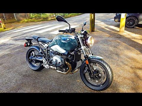 New 2017 BMW R nineT Pure!! - 1st Ride & Impression! | BikeReviews