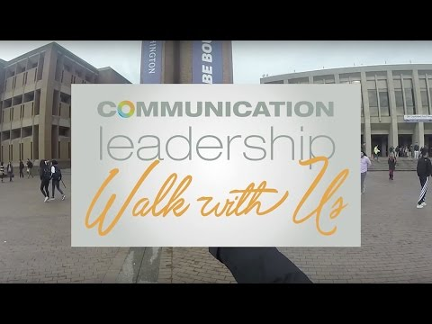 Walk With Us: An Introduction To Communication Leadership
