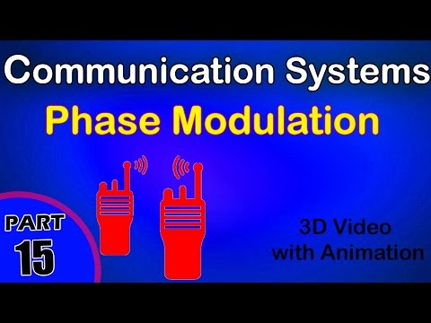 Phase modulation | Communication systems | |class 12 physics subject notes lectures|CBSE|IITJEE|NEET