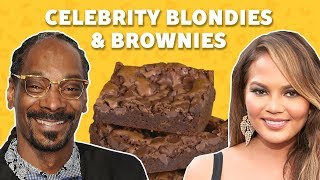 We Tried Celebrity Brownie & Blondie Recipes | TASTE TEST