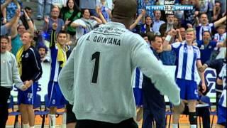 Andebol: FC Porto-Sporting, 34-32 (final, jogo 5, 23/05/15)