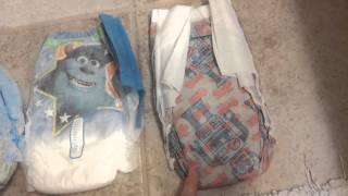 Honest company, huggies, pampers training pants