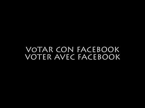 Votar con facebook | Voter avec Facebook