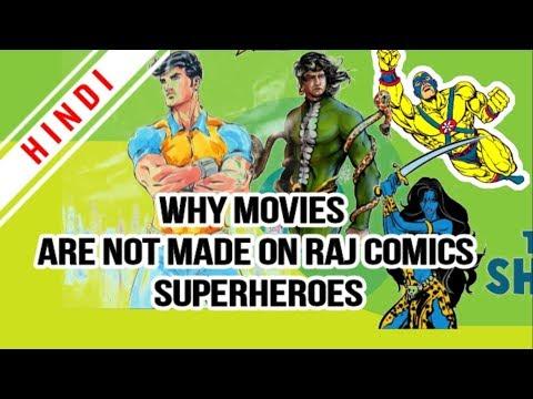 Movies On Raj Comic Super Heroes || Super Commando Dhruv Web Series Comming Soon || RCMP