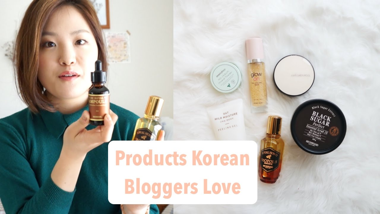 Kbeauty Products Korean Bloggers Love