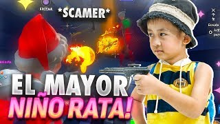 THE MOST RATA SCAMER CHILD!! SCAMEANDO SCAMERS - Fortnite Save the World