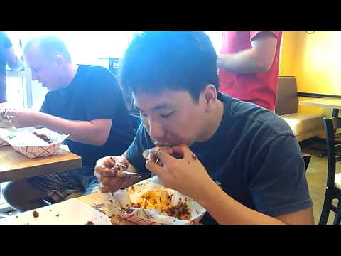 Tenders Hot Wing Challenge - New Record at 2 min 45 sec