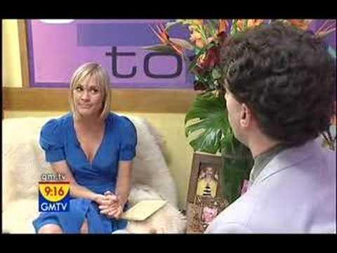 Borat on GMTV