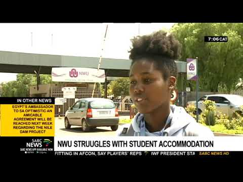 NWU Struggles With Student Accommodation