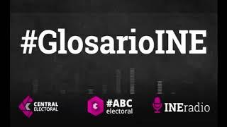 Glosario Electoral: Circunscripción plurinominal