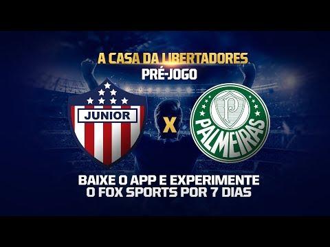 PRÉ-JOGO:  Junior Barranquilla x Palmeiras - Conmebol Libertadores FOX Sports