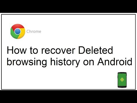 How To Recover Deleted Browsing History On Android Youtube