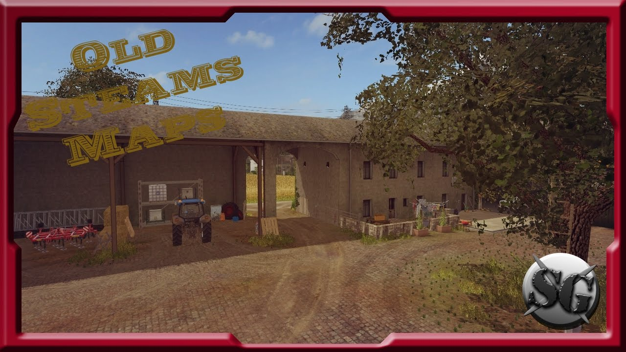 fs17 old stream map petite d couverte et on commence le travail 1 youtube. Black Bedroom Furniture Sets. Home Design Ideas