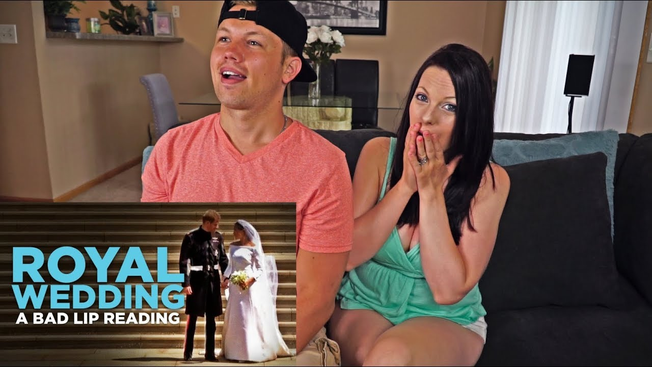 Royal Wedding Bad Lip Reading.Reaction To Royal Wedding A Bad Lip Reading