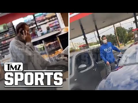 Viral video shows Mark Cuban picking up Delonte West at a Dallas gas station as family hopes the NBA star will go to rehab