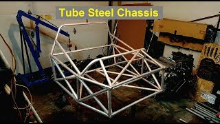 Making a Racing Tube Steel Chassis - E55 ASL Part 4