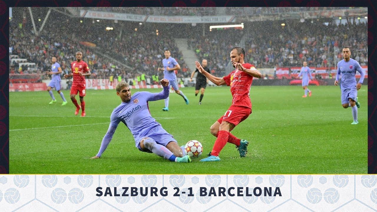 Download Red Bull Salzburg 2-1 Barcelona, Pre-Season Friendly 2021 - MATCH REVIEW