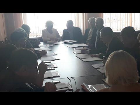 Заседание № 2 Собрания депутатов муниципального образования город Кимовск Кимовского района 28.09.18