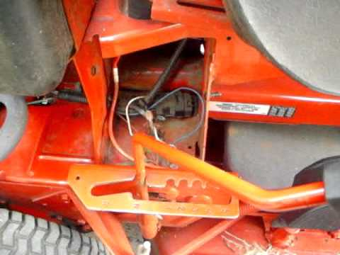 Replacing the    Solenoid    in the Electric Start Snapper Riding    Mower    How to  YouTube