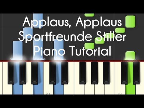 Sportfreunde Stiller - Applaus, Applaus (Piano Tutorial)