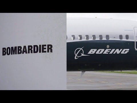 Bombardier says it was 'in compliance' as Boeing dispute rages