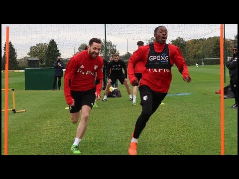 I TRAIN WITH PREMIER LEAGUE TEAM!