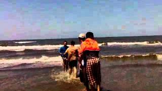 اغراق مواطن مصري مصاب في اصبعه في شواطئ دمياط الجديدة+18