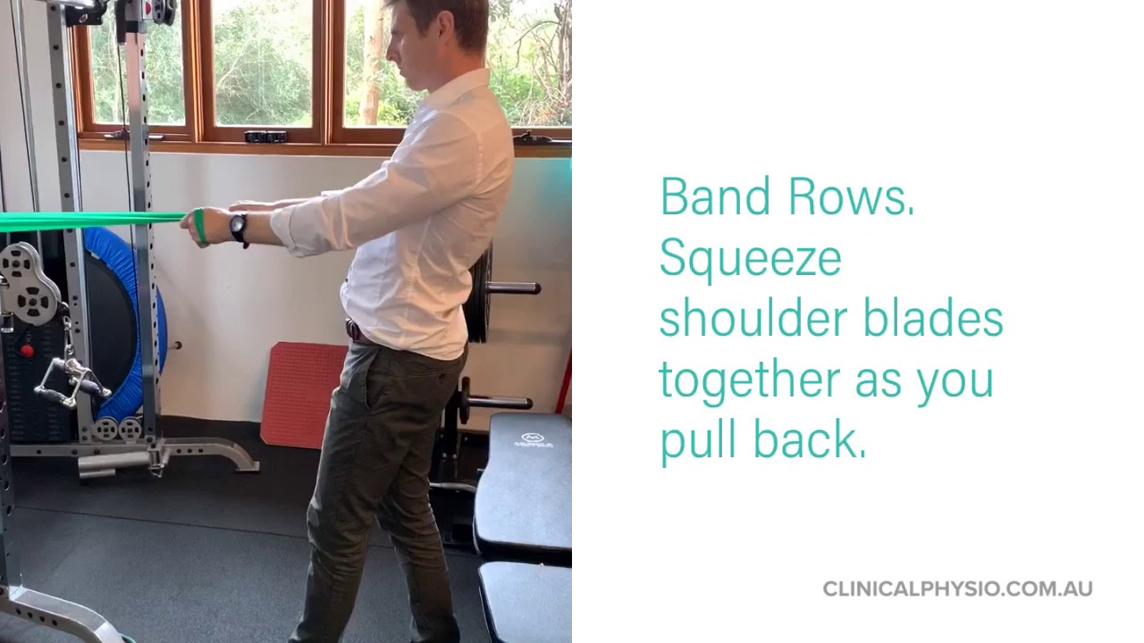 3 Exercises to Fix Rounded Shoulders