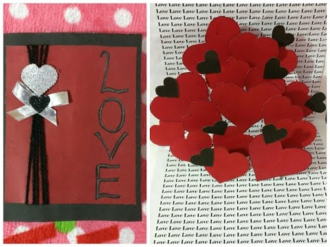 DIY|How to make|Valentine Day|Heart Popup Card|#1