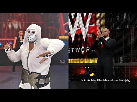 WWE 2K16 MyCAREER PS4 Gameplay - Triple H!! Ep. 21