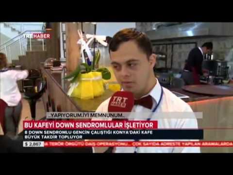 TRT Haber Gökcem Derneği Özel Gereksinimli Gençlerin Çalıştığı Cafe Restaurant Haberi