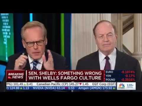 Sen. Shelby talks to CNBC about the Senate Banking Cmte. hearing on Wells Fargo
