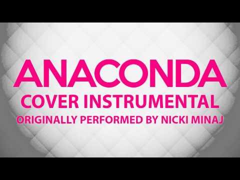 Anaconda  Instrumental In the Style of Nicki Minaj