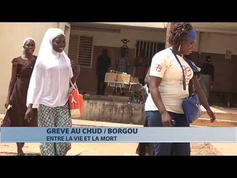 Santé : grève au CHUD Borgou