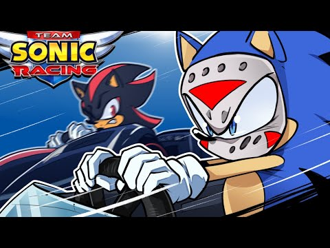 Sonic Racers - SERIOUSLIRIOUS DRIVING! (Delirious' Perspective) |