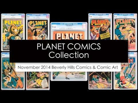 Planet Comics Collection, November 2014 Comics & Comic Art Signature Auction