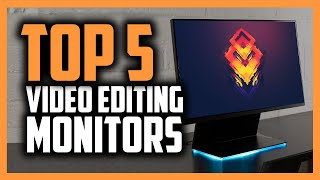 Best Video Editing Monitor in 2020 [Top 5 Monitors For Any Budget]