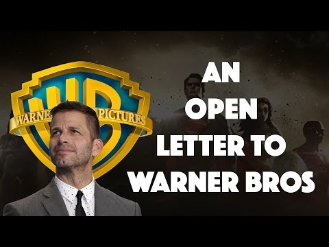 Re: An Open Letter to Warner Bros